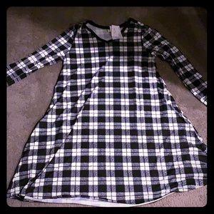 XL Emily lularoe dress plaid NWT